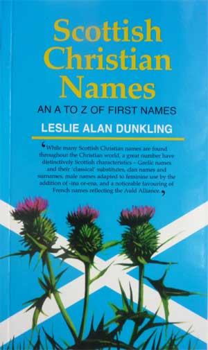 Scottish Christian Names