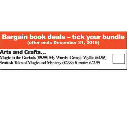 Arts and Crafts Deal (Magic In The Gorbals, My Words - George Wyllie, Scottish Tales of Magic and Mystery)